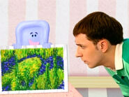 Blue's Clues Slippery Soap with Painting and Steve