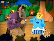 Joe elephant and princess blue