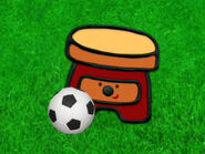 Blue's Clues Sidetable Drawer with Soccer Ball