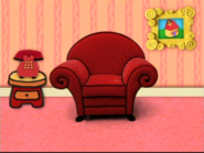 Blue s Clues Living Room What Did Blue See