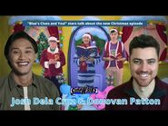 Josh Dela Cruz and Donovan Patton talk Blue's Clues and You! and new Christmas episode
