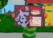 Pistas Da Blue Birthday Card