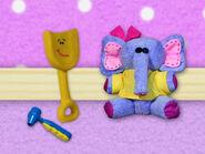 Blue's Clues Shovel with Elephant Toy