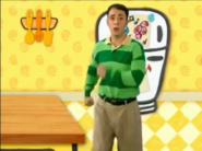 We are marching for Blue's Clues