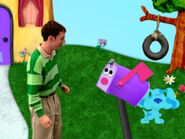 Blue's Clues Mailbox Dancing