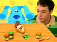 Blue's Clues Cinnamon and Paprika Hugging