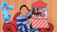 Video letter from Blue's Night Before Christmas