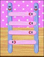 Popsicle ladder