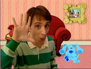 To Play Blue's Clues Steve Gets the Sniffles