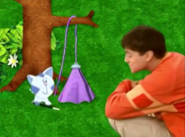 Periwinkle in Contraptions with Joe
