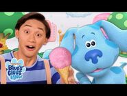 Delivering Ice Cream With Blue and Polka Dots! 🍦 - Blue's Clues & You!