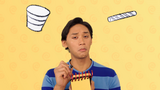 Meet Josh! Animated Cup and Straw Clues