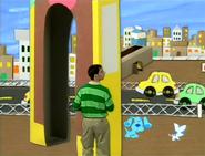 Periwinkle's Cardboard City Skidoo