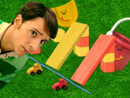 Blue's Clues Pail and Shovel with Toy Cars