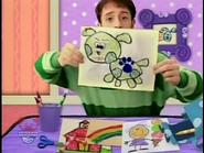 Green puppy second clue