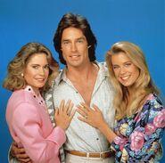 Ridge, Brooke, and Caroline