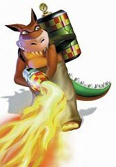 Dingodile flamethrower.jpg