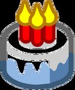 Club Penguin Cake Emoticon