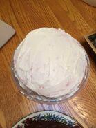 My 19th birthday strawberry cake