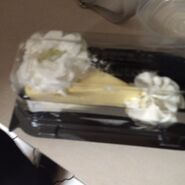 Cheesecake Factory plain cheesecake