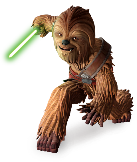 Gungi Jedi Lightsaber : The hilt is made with the wood of the brilark tree as it would help gungi connect with the lightsaber and the force.