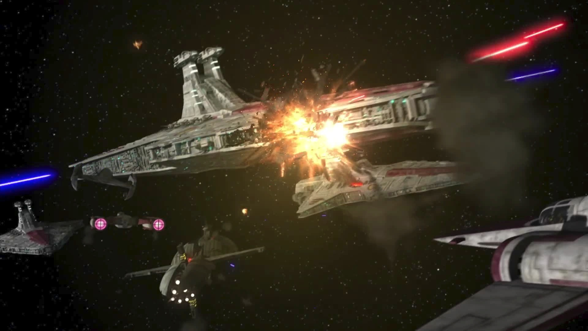 Attack On Obi Wan Kenobi S Fleet The Clone Wars Fandom