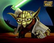 Yoda TCW Wallpaper