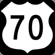 US 70 shield