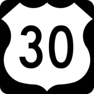 US 30 shield