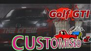 The Crew Volkswagen Golf GTI Customisation & Gameplay