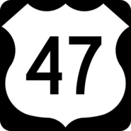US 47 shield