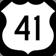 US 41 shield