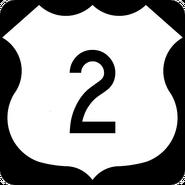 US 2 shield
