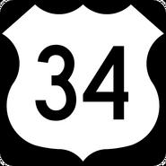 US 34 shield