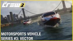 The Crew 2 Jaguar Vector V40R Powerboat - Motorsports Vehicle Series 3 Gameplay Ubisoft NA