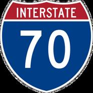 Interstate 70 shield