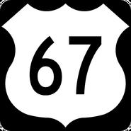 US 67 shield