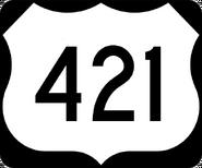 US 421 shield
