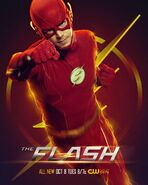 The Flash S6 Barry poster