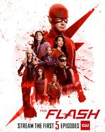 The Flash S6 stream poster