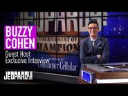 Buzzy Cohen- Exclusive Interview on Guest Hosting - JEOPARDY!
