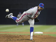 R Dickey New York Mets v San Diego Padres DTR4XOFGn7Zl