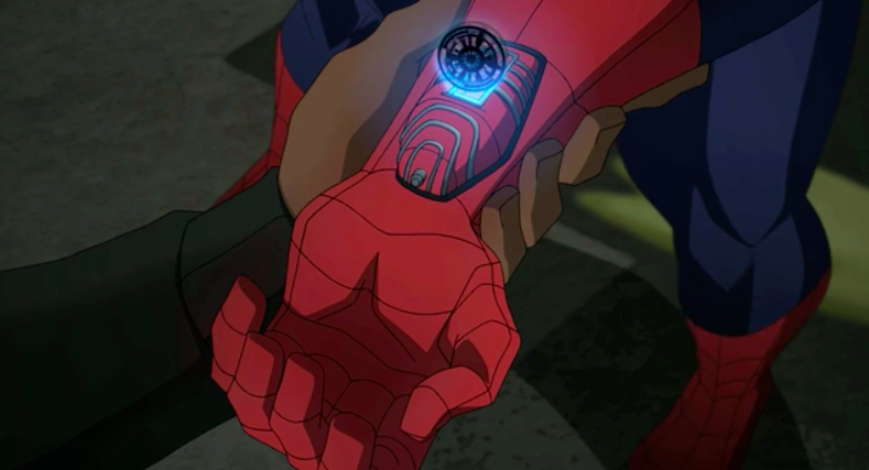 S H I E L D S Next Generation Web Shooter Ultimate Spider Man Animated Series Wiki Fandom