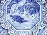 Aesop's Fables (Dutch Border) - Minton Hollins & Co
