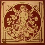 Spirit of the Flowers - Violet - J Moyr Smith - Minton China Works