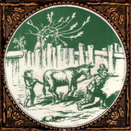Aesop's Fables - The Miller, the Son and the Ass - Minton Hollins