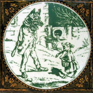 Aesops Fables - The Wolf and The Kid - Minton Hollins
