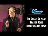 Sarah Jeffery, The Queen Of Mean, Teases Descendants News (HD)