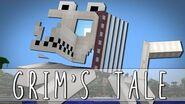 GRIM'S TALE How I Met Grim The Skeleton Dog Minecraft
