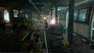 Underground Train Tunnel